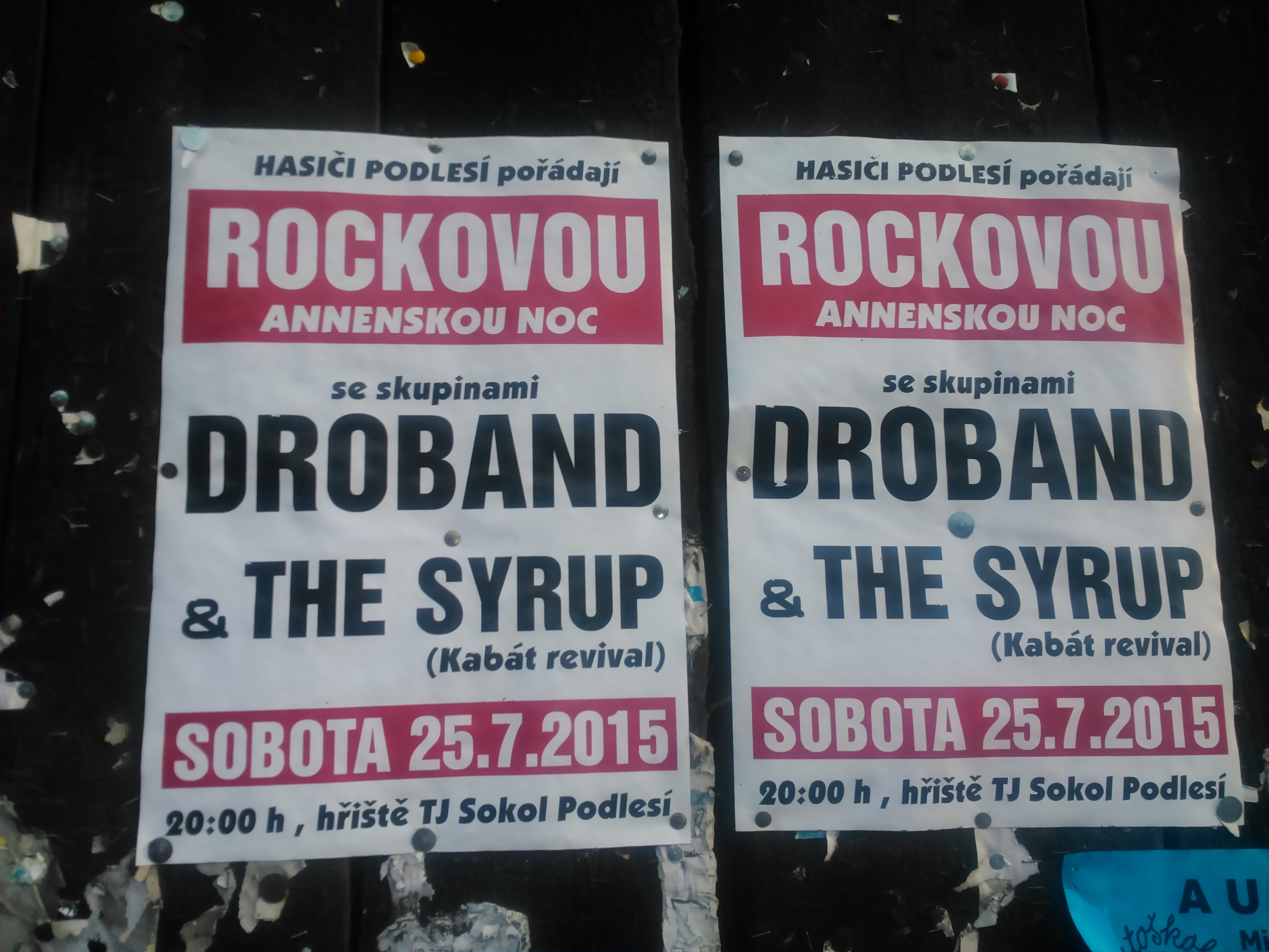 Rocková Anenská noc