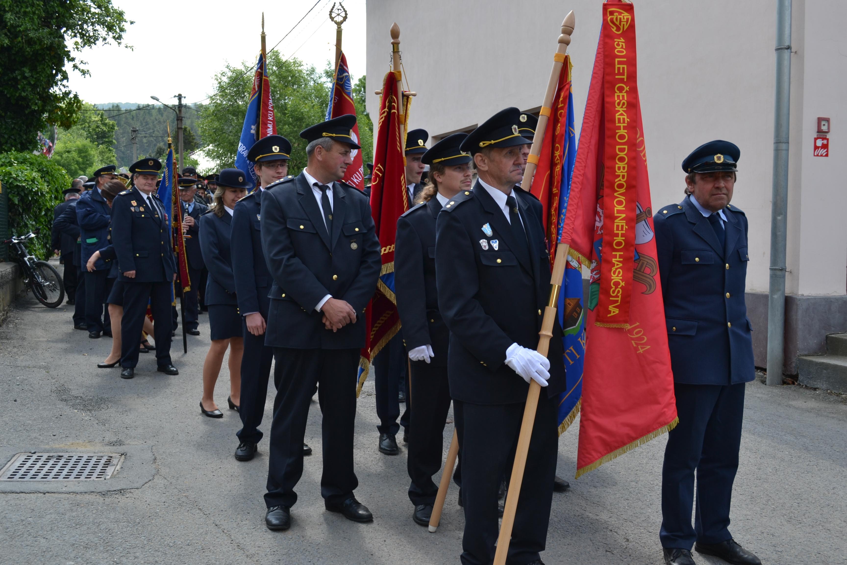 Oslava 90.let SDH Podlesí - Křivé