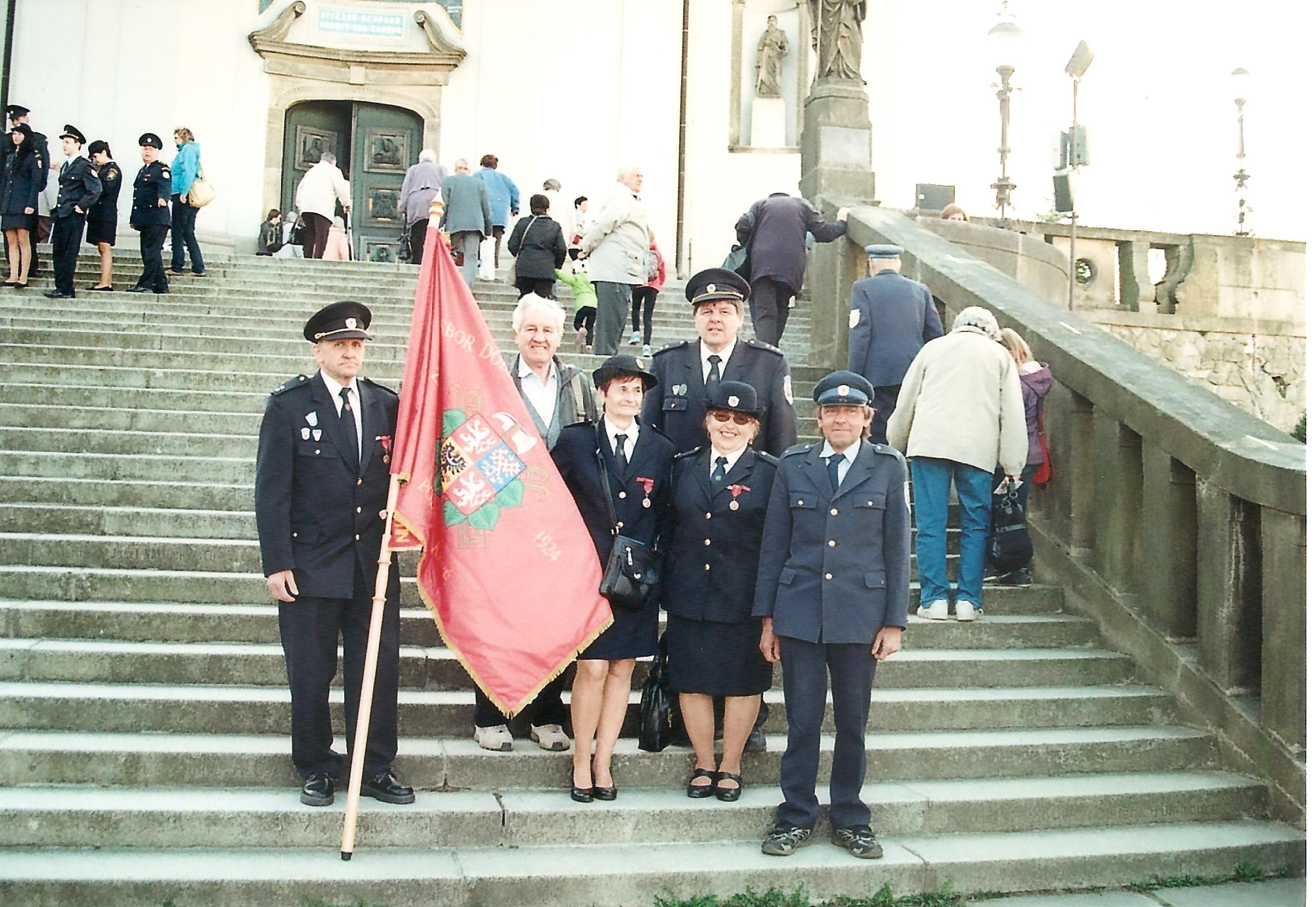 Mezinárodní hasičská pouť Hostýn 2015