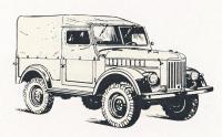 1977. GAZ 69 M