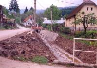 Vroce 1998 byla provedena oprava koryta křivského potoka u zbrojnice po zničujících záplavách.
